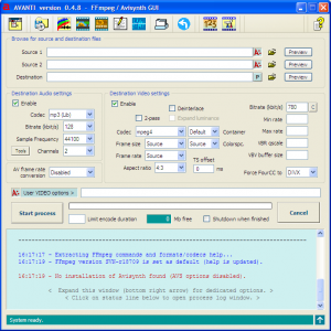 avanti free open source video converter for windows