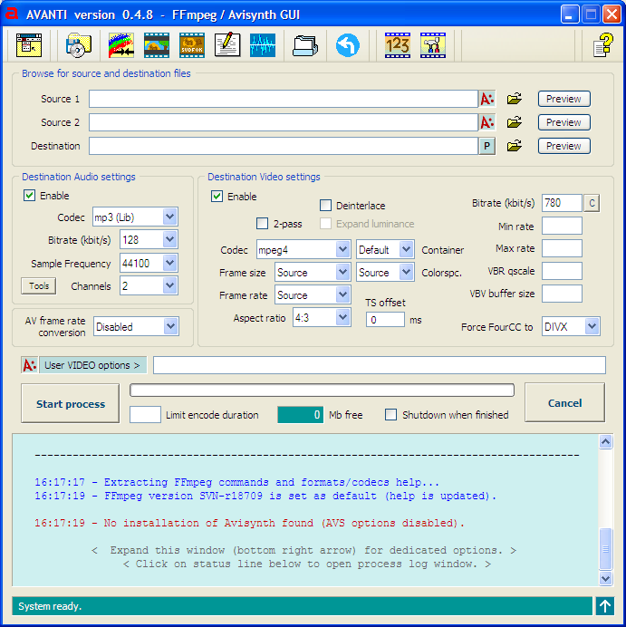 FFmpeg Based Free and Simple Audio Video Converters for Windows